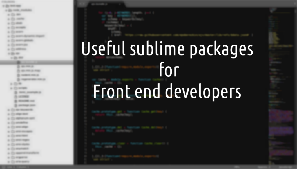 useful-sublime-packages